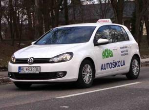 autoškola ficker auto s logom